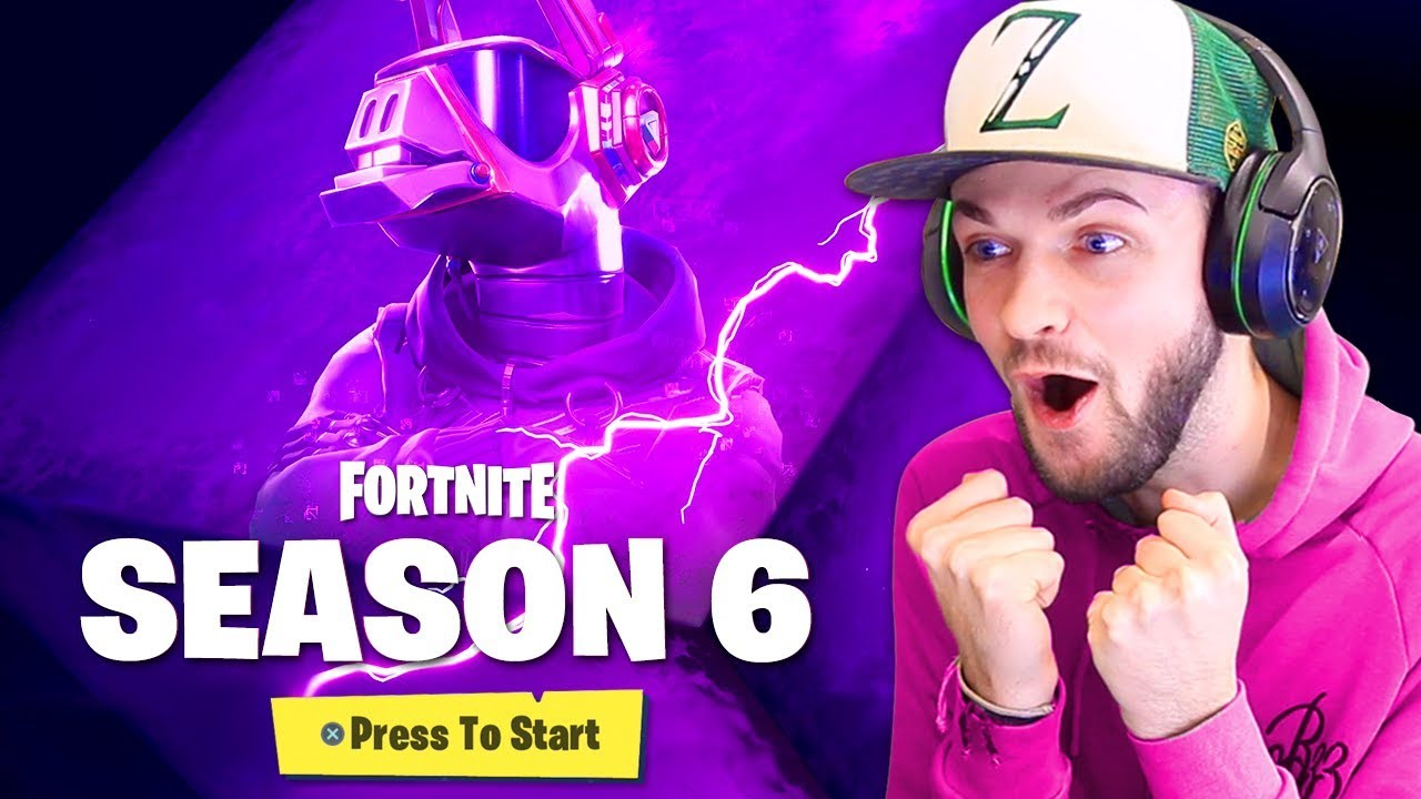 First Look At Season 6 In Fortnite Youtube