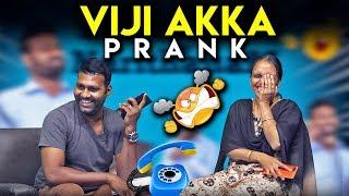 Viji Akka Prank -  Sarithiran in Narithanam