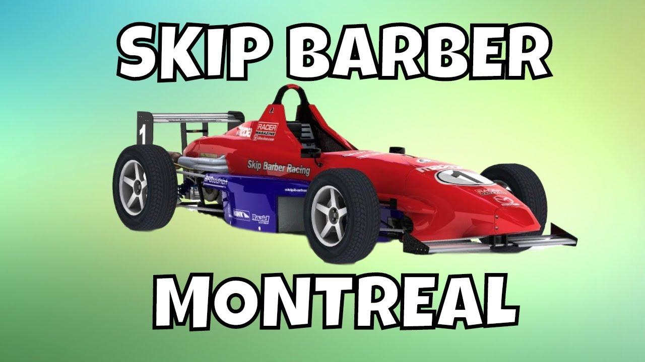 Circuito Barber : Iracing skip barber track guide circuit gilles villeneuve