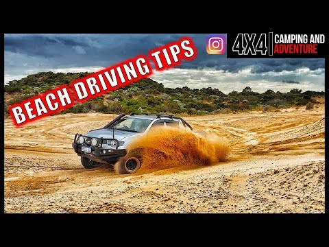 5 Tips For Better Beach Driving And A Bonus!
