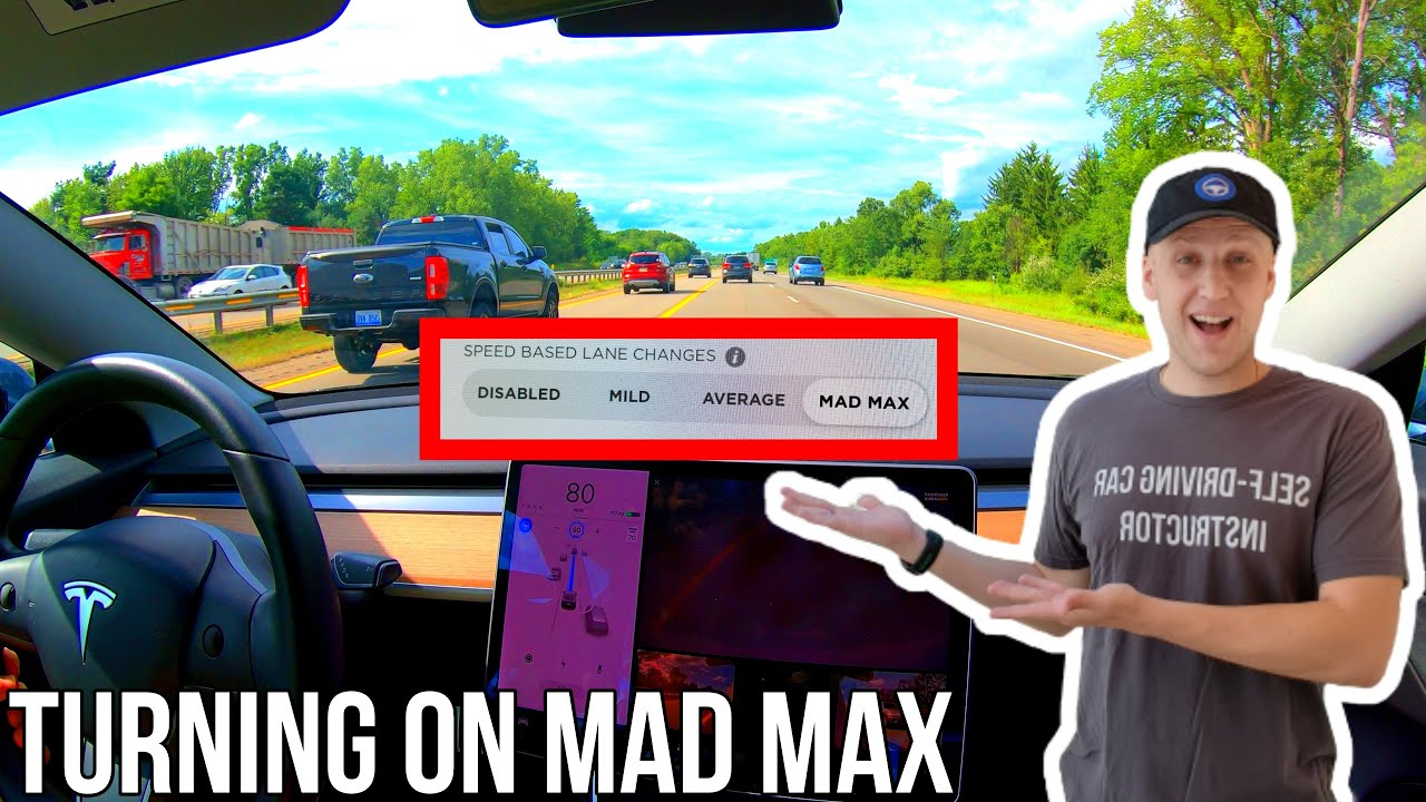 I'm Turning On Mad Max in Tesla Software Update 2020.28.6! | TESLA CHALLENGE #23 | Full Self Driving