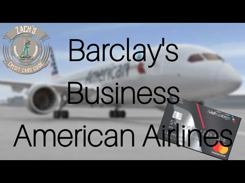 Barclay's Business American Airlines Card