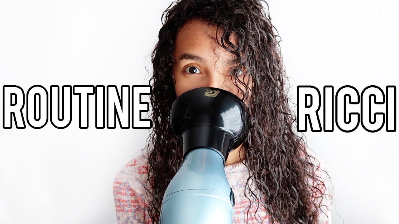 lavare capelli ricci