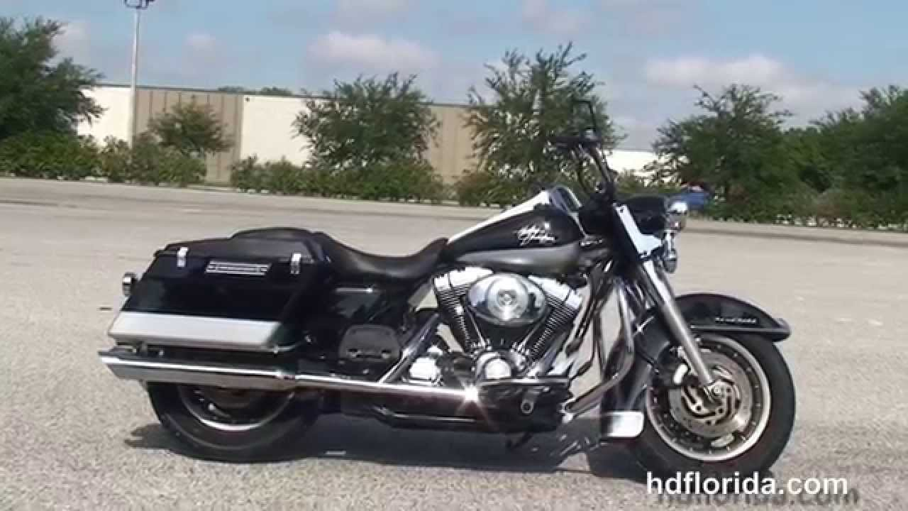 Used Harley Davidson Motorcycles >> Used 2004 Harley Davidson Road King Police Motorcycles for ...