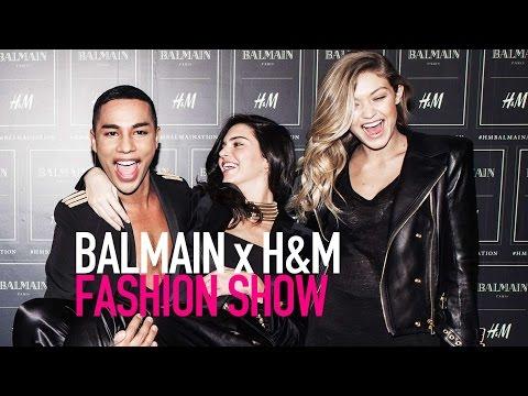 Watch BALMAIN x H&M Fashion Runway Show  (Full HD) | MODTV