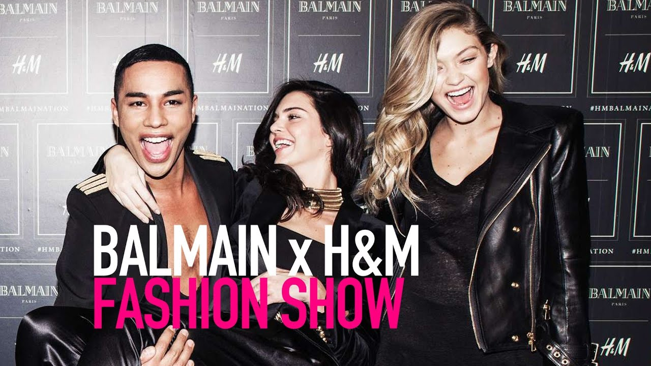 Watch BALMAIN X HM Fashion Runway Show Full HD