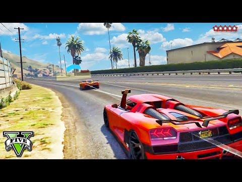 GTA 5 EXTREME RAMP RACES (feat. KWEBBELKOP)   Above The Bridge Race   GTA 5 FUNNY MOMENTS PS4