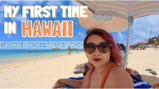 TRAVELLING TO HAWAII DURING COVID 2021 + VISITING LANIKAI BEACH AND KAILUA BEACH