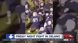 Fight breaks out at football game