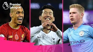 BEST Premier League Goals of the Month | November | 2019/20 - 2015/16