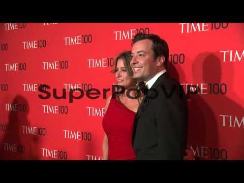 Nancy Juvonen and Jimmy Fallon  at 2013 Time 100 Gala  A...