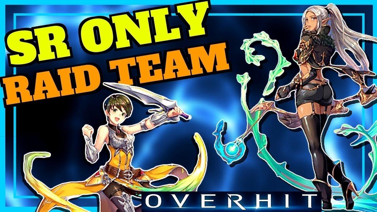 OVERHIT] SR ONLY FAFNIR RAID TEAM