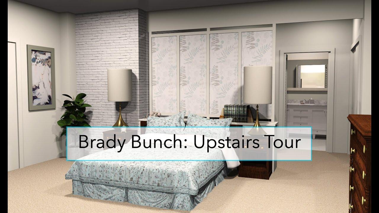 Brady Bunch: 2nd Floor Video Walk-through Tour. [CG Tour ...