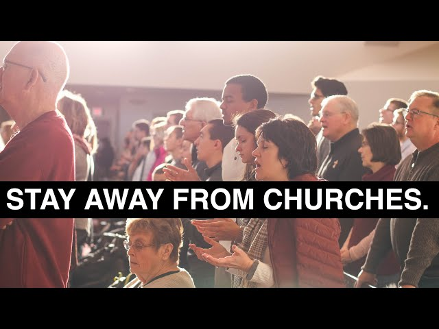 God Doesn't Want You To Go To Church.