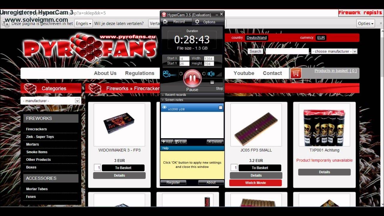 Online illegaal vuurwerk bestellen