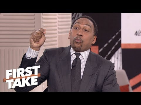 Stephen A. to Le\'Veon Bell: 'What the hell you waiting for?\' | First Take | ESPN