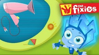 The Fixies ★ The Hair Dryer - More Full Episodes ★ Fixies English | Fixies 2018 | Cartoon For Kids