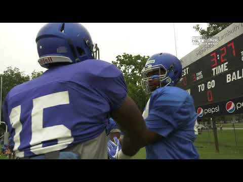 Memphis Football: Tige Wrap Camp Lambuth