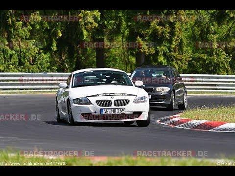 BMW 130i vs Z4 30si dogfight Nordschleife