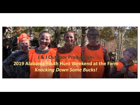 Alabama Youth Weekend Hunt 2019 (Part 1) - Knocking Down Some Bucks!