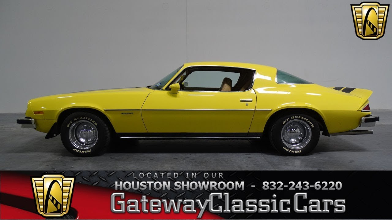 1976 chevy camaro gateway classic cars 996 houston showroom [ 1280 x 720 Pixel ]