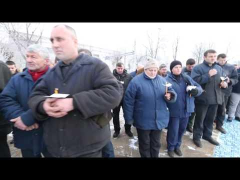 Sezar Zaraysky: Водохреща на Чернівецькому Машзаводі. 19 січня 2017 року