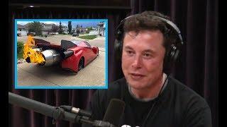"Elon Musk ""The new TESLA ROADSTER has ROCKET THRUSTERS"""