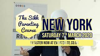 Sikh Parenting Course is coming to New York!