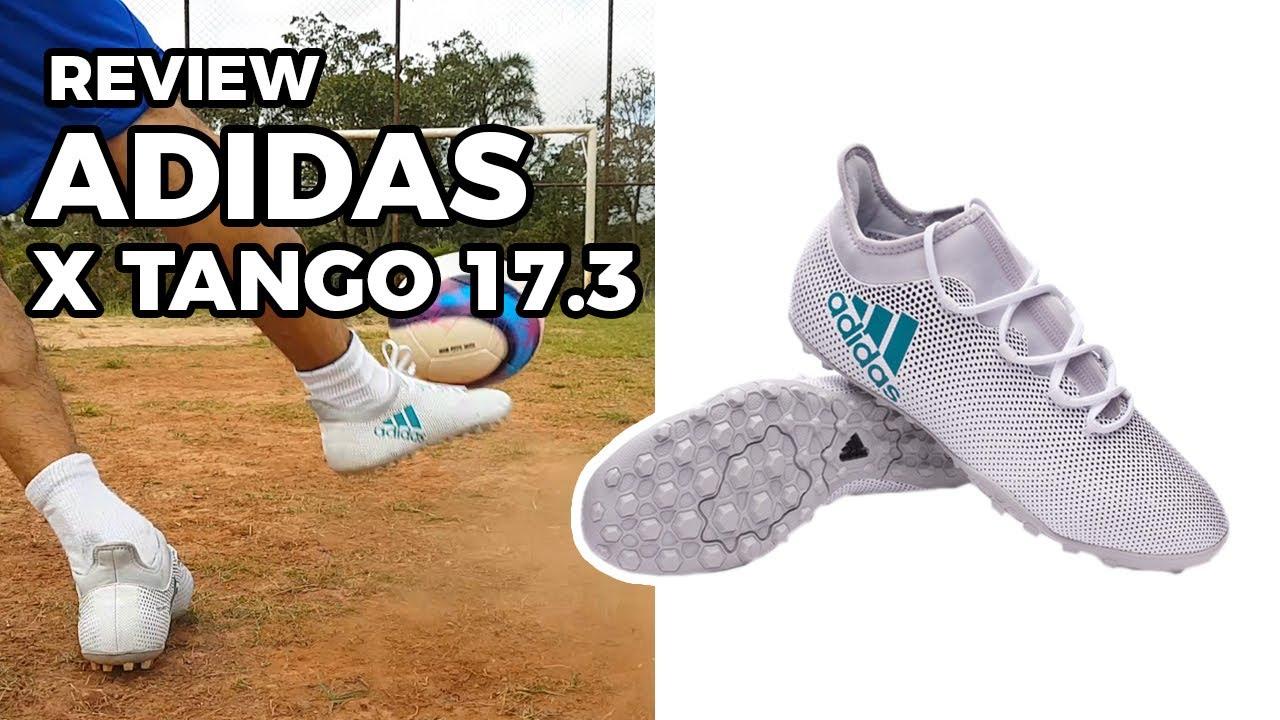 7c23559fa8 CHUTEIRA PRA DAR ROLÊ  REVIEW ADIDAS X TANGO 17.3 - YouTube