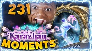 Hearthstone Karazhan Daily Funny and Lucky Moments Ep. 231 | Golden Anomalus Misclick!!
