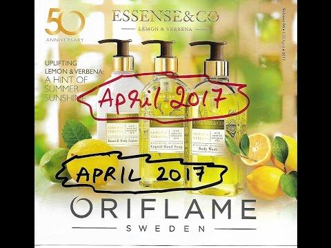 Oriflame April Catalogue  2017 | Best offer highlights April