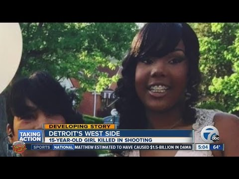 15-year-old girl shot and killed in Detroit after family tells speeding driver to slow down