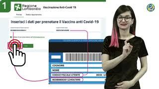 17/21 Come prenotare il vaccino Covid19 sul sito della Regione Lombardia