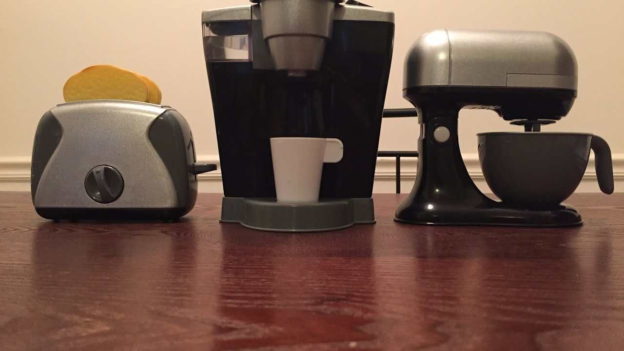 Just Like Home Toy Stand Mixer : Just like home coffee maker stand mixer and toaster toy