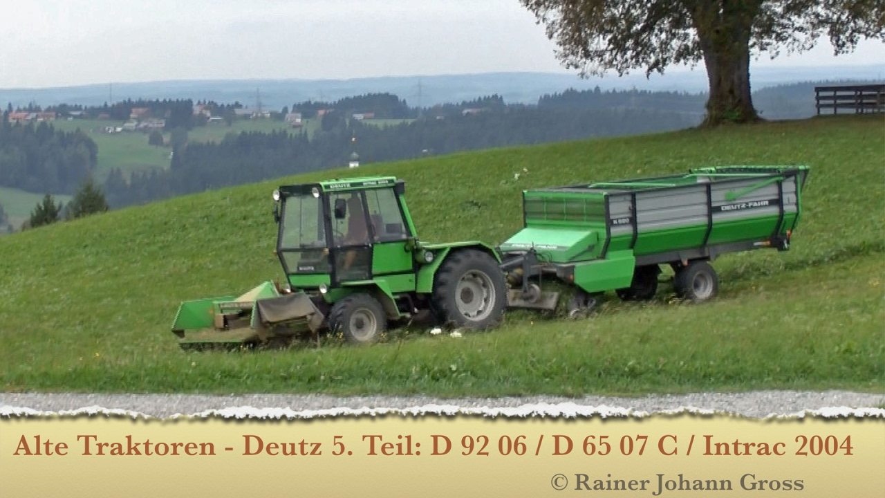 alte traktoren deutz 5 teil d 62 06 d 65 07 c. Black Bedroom Furniture Sets. Home Design Ideas