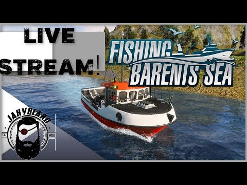 FISHING BARENTS SEA LIVE STREAM! COME HANG OUT AND CHECK OUT THIS UPCOMING GAME!