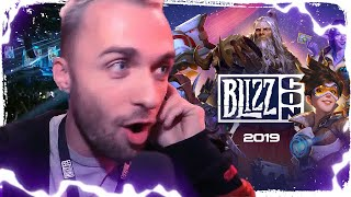 Le meilleur de la BlizzCon 2019 avec Squeezie, Reporter de choc !