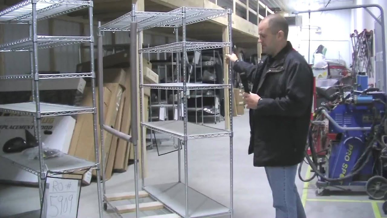 How To Build An Inexpensive Body Shop Parts Cart Youtube