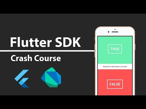 Flutter Crash Course - Building a Complete App From Scratch