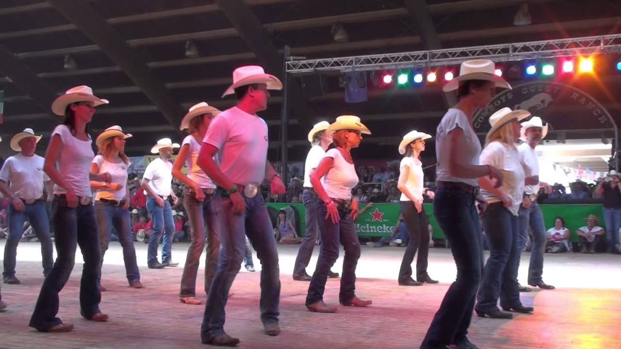 Ram it down line dance wild country friends voghera country festival 2015 youtube