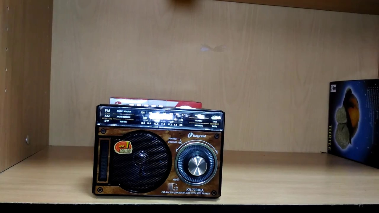 Радиоприёмник KR-7703 Kayreal  с USB флеш проигрывателем 745