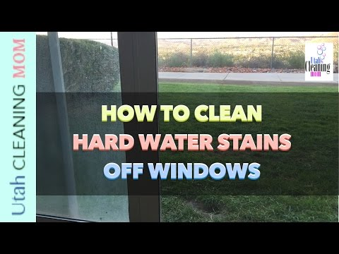 Remove Paint Overspray From Windows