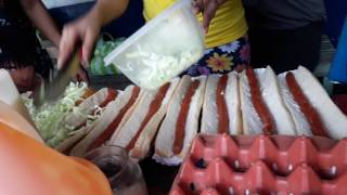 Cheese -zeeeyyy Footlong at Jhocson St. Manila