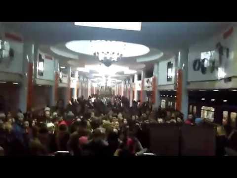Давка в харьковском метро из-за задержки поездов