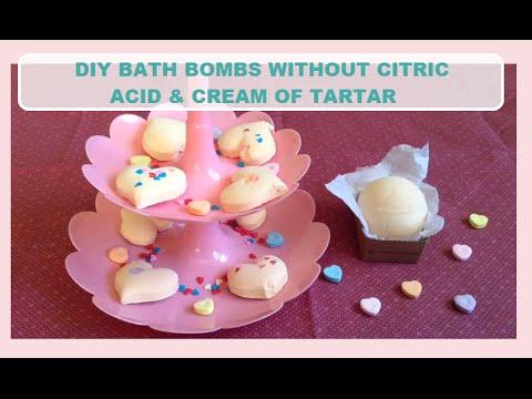 diy bath bombs without citric acid and tartar diy bath bombs without citric acid of tartar