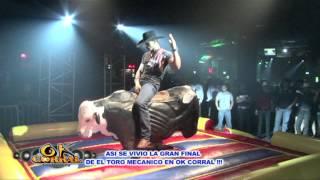 FINAL DEL CONCURSO DE TORO MECANICO DE OKCORRAL DE FORT WORTH TX thumbnail