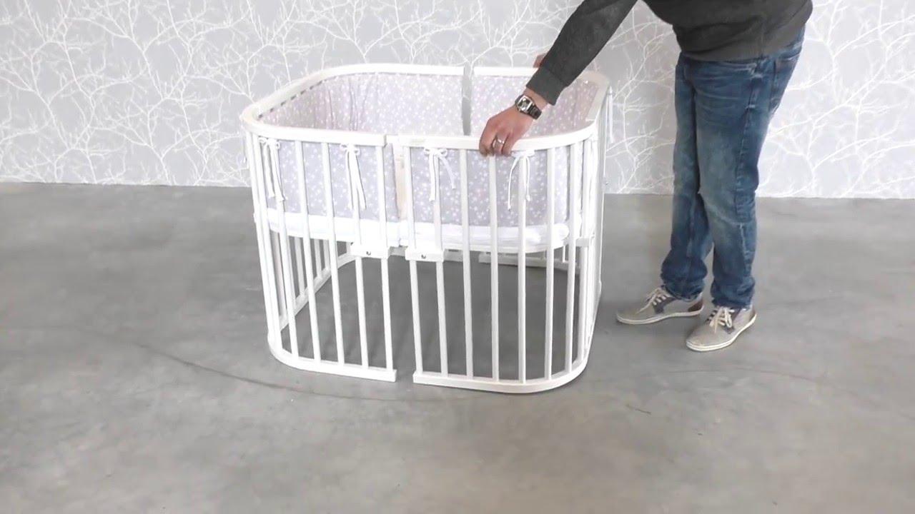 Babybay Montage Erweiterung Zum Laufstall Youtube