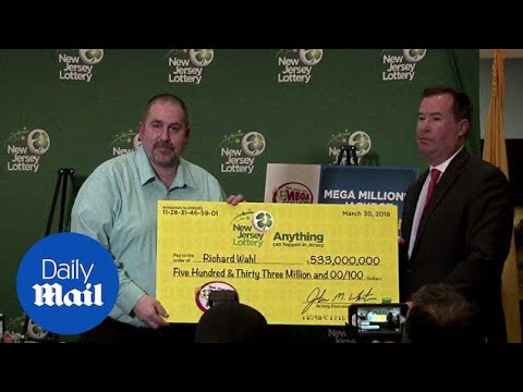 New Jersey man wins $533M in the Mega Millions lottery - Daily Mail
