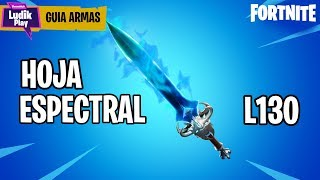 REVIEW SPECTRAL SHEET, CASI THE BEST SPACE IN THE GAME! FORTNITE SAVE THE WORLD