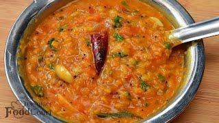 Tomato Dal Recipe/ Tomato Pappu